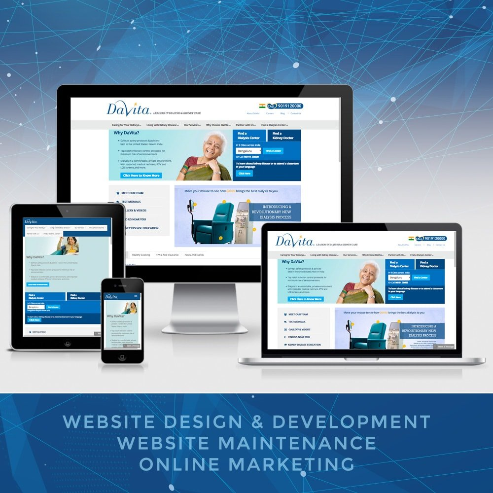 Medical Website Development