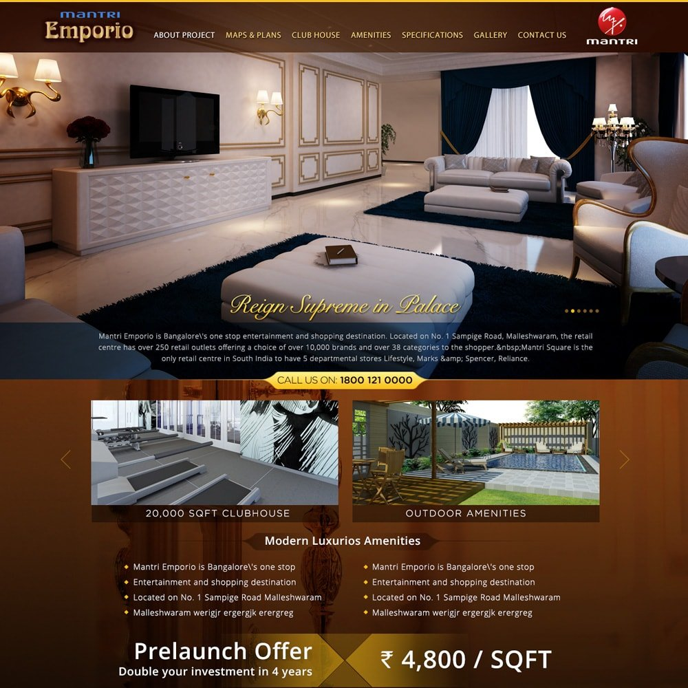 Builders website development